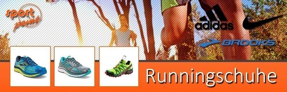 Runningschuhe von Adidas, Nike und Brooks