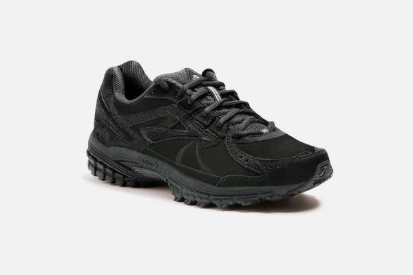 BROOKS ADRENALINE WALKER 3 001 Schwarz Damen - Bild 1