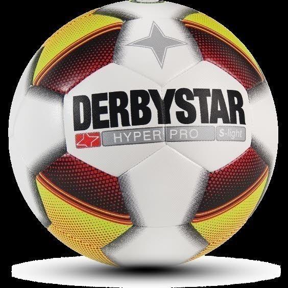 DERBYSTAR Hyper Pro S-Light 153 weiß/gelb/rot