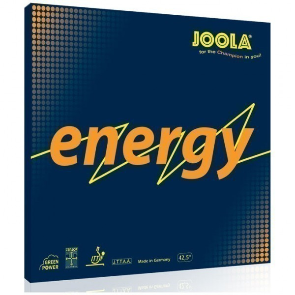 JOOLA RUBBER ENERGY RED MAX