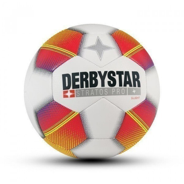 DERBYSTAR Stratos Pro S-Light 135 weiß/rot/gelb