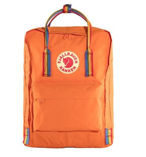 FJÄLLRÄVEN Kånken Rainbow 212-907 Burnt Orange
