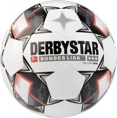 DERBYSTAR MINIFUSSBALL BL BRILLANT APS 123 WE/SW/RO