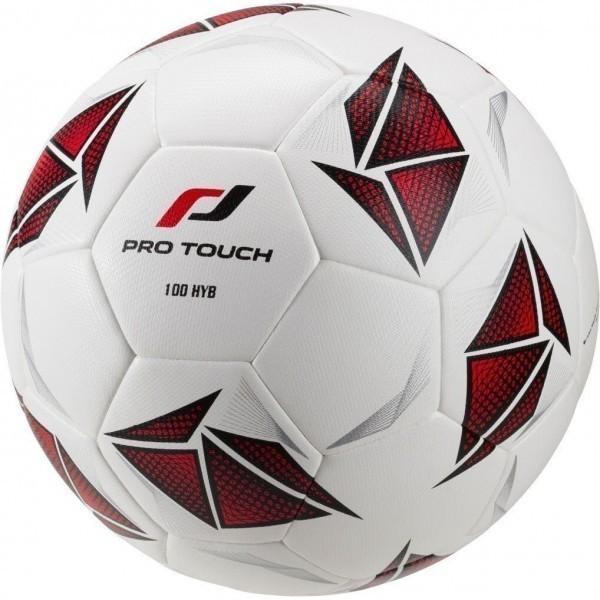 Fußball 100 Hybrid 900 WEIß/SCHWARZ/ORA