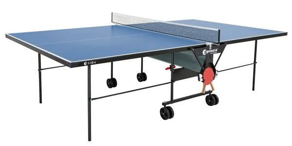 Sponeta Tischtennistisch Hobbyline S 1-13 e Outdoor inkl. Joola Schlägerset